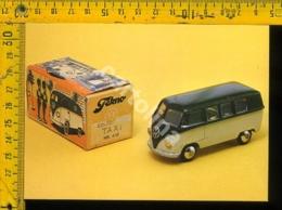 Cartolina Postcard Tekno Toys Auto VW Taxi - Cartoline