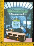 Cartolina Postcard Dinky Toys Auto Autobus Parisien - Cartoline