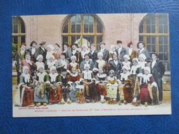 CPA 09 MASSAT GROUPE DE MASSATOIS CONCOURS ARIEGEOIS 1922 - France