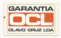 Calendar * Portugal * 1972 * Garantia OCL - Calendars