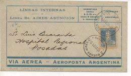 AIR MAIL LETTER 13 07 1929 #55 - Amérique Centrale