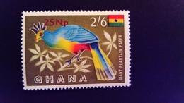 Ghana 1967 Animal Oiseau Bird Surchargé Overprint Yvert 271 ** MNH - Ghana (1957-...)