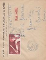 Laos 1956 Lettre - Laos