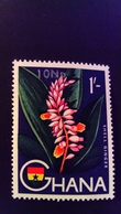Ghana 1967 Fleur Flower Surchargé Overprint Yvert 270 ** MNH - Ghana (1957-...)