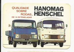 Calendar * Portugal * 1972 * Hanomag/Henschel * Império Da Beira, Automóveis, S.A.R.L. * Lisboa - Calendars