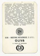 Calendar * Portugal * 1972 * Oliva * S. João Da Madeira - Calendars