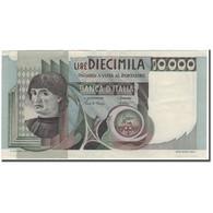 Billet, Italie, 10,000 Lire, KM:106c, SUP+ - [ 2] 1946-… : République
