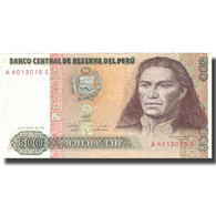 Billet, Pérou, 500 Intis, 1987, 1987-06-26, KM:134b, TTB+ - Pérou