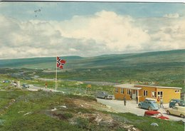 Norway - At The Arctic Circle With The Kiosk. Sent To Denmark  1963  B-3245 - Norway