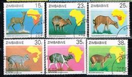 ZIMBABWE /Oblitérés/Used/1987 - Les Céphalophes - Zimbabwe (1980-...)