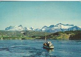 Norway - Saltstraumen Ved Bodø. Sent To Denmark  1962   B-3246 - Norway