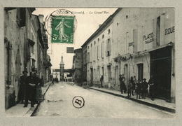 33 - Gironde - Gensac - La Grand'Rue - Otros Municipios