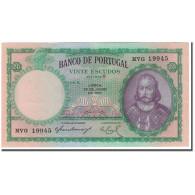 Billet, Portugal, 20 Escudos, 1951-06-26, KM:153a, SUP - Portugal