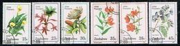 ZIMBABWE /Oblitérés/Used/1989 - Fleurs Sauvages - Zimbabwe (1980-...)