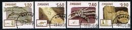 ZIMBABWE /Oblitérés/Used/1998 - Fossiles Du Zimbabwe - Zimbabwe (1980-...)
