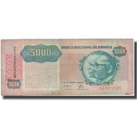 Billet, Angola, 5000 Kwanzas, 1991, 1991-02-04, KM:130b, TB+ - Angola