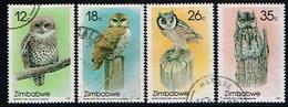 ZIMBABWE /Oblitérés/Used/1987 - Rapaces Nocturnes - Zimbabwe (1980-...)