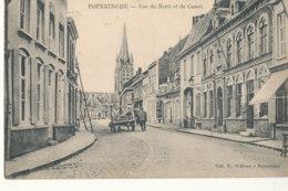 BELGIQUE )) POPERINGHE    Rue Du Nord Et De Cassel - Belgique