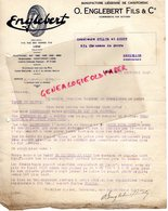 BELGIQUE- LIEGE- LETTRE TARIF 1927-O. ENGLEBERT FILS- MANUFACTURE LIEGEOISE CAOUTCHOUC- 3 RUE DES VENNES- - Old Professions