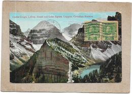 CANADA - Castle Crags Lefroy Hazel And Lake Agnes LAGGAN CANADIAN ROCKIES - DELC5 - - Alberta