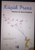 LITTLE PRINCE Saint Exupery TURKISH LANGUAGE COLORED PRINT Hard Cover 17x24 Cm - Livres, BD, Revues