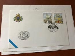 San Marino Europa FDC 1998 - FDC