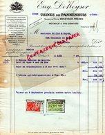 BELGIQUE - BRUXELLES-BRUSSELS-FACTURE EUGENE DEKEYSER-USINES DE PANNENHUIS- PETROLE-A GILLIS & GUYOT-1927 - Old Professions