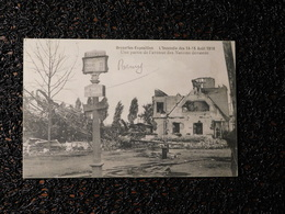 Bruxelles, Exposition, Incendie Des 14-15 Août 1910, Une Partie De L'avenue Des Nations  (C6) - Universal Exhibitions