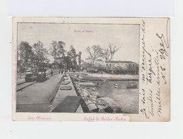 Sur Carte Postale De Constantinople Type Sage 10 C. Noir Et Lilas. CAD Constantinople Turquie 1901. (782) - 1858-1921 Empire Ottoman