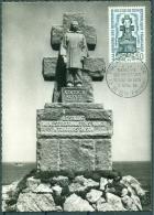 CM-Carte Maximum Card # France-1962 # Monument # Résistance-Widerstand #Mahnmal, Mémorial De L´Ile De Sein # Ile D - Maximumkaarten