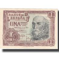 Billet, Espagne, 1 Peseta, 1953, 1953-07-22, KM:144a, SUP+ - 1-2 Pesetas