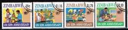ZIMBABWE /Oblitérés/Used/1995 - 50 Ans De L'Onu - Zimbabwe (1980-...)