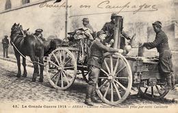 Thématiques 2018 Commémoration Fin De Guerre 1914 1918 Arras Cuisine Roulante Allemande Prise Par Notre Cavalerie - Guerre 1914-18