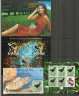 Année Complète 2001 , 32 Timbres + 1 B-F  Neufs **.   Côte 95,00 Euro, Deux Photos - Ile Norfolk