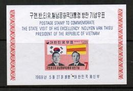 KOREA---South  Scott # 656a** VF MINT NH Souvenir Sheet SS-335 - Korea, South