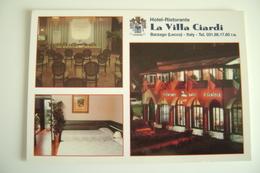 LA VILLA  CIARDI  BARZAGO  LECCO    HOTEL   RISTORANTE  NON VIAGGIATA CONDIZIONI FOTO - Hotels & Restaurants