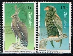 ZIMBABWE /Oblitérés/Used/1984 - Aigle Huppard / Bateleur Des Savanes - Zimbabwe (1980-...)
