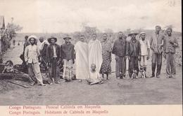 CONGO PORTUGAIS  Habitants De CABINDA En MAQUELLA - Kongo - Brazzaville