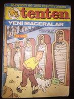 Tintin Turkish Edition No: Gunes Tutsaklari 30 Lira 1980's Alfa Yayinlari - Livres, BD, Revues