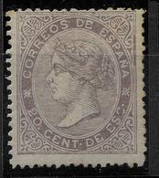 EDIFIL 92* NUEVO . MH .BONITO CATALOGO 165 EUROS - 1850-68 Royaume: Isabelle II