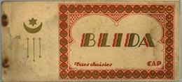 BLIDA  ALGÉRIE Carnet Cartes Postales Manque 3 Sur 15 - Blida