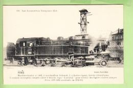 Cie EST :  Machine Tender 5002 Pour Lignes à Fortes Rampes -  TBE - Les Locomotives , Edition Fleury - 2 Scans - Matériel