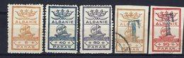 ALBANIE - Timbres Non Emis - Neufs (X) Oblitérés - B/TB - - Albanie