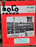 Rare Ancienne Revue Loco Revue N°290 De Décembre 1968 - Books And Magazines