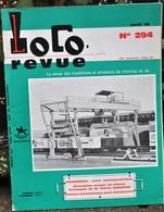 Rare Ancienne Revue Loco Revue N°294 De Avril 1969 - Books And Magazines