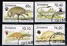 ZIMBABWE /Oblitérés/Used/1998 - Faunes Africaines - Zimbabwe (1980-...)