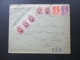 Belgien 1933 Firmenbrief Ernest Willems Importation Villa Mia Gentbrugge. MiF In Die USA - Belgien