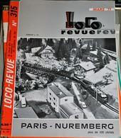 Rare Ancienne Revue Loco Revue N°315 De Mars 1971 - Books And Magazines