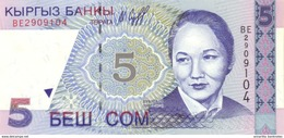 KYRGYZSTAN 5 COM (SOM) 1997 P-13 UNC [KG211a] - Kirghizistan