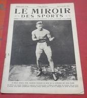 Miroir Des Sports N°23 9 Décembre 1920 Arthur Wyns,Salon Auto Londres,Football Américain Princeton  Harvard - Sport